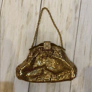 Vintage whiting & Davis mesh bag